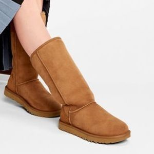 Chestnut brown UGG boots